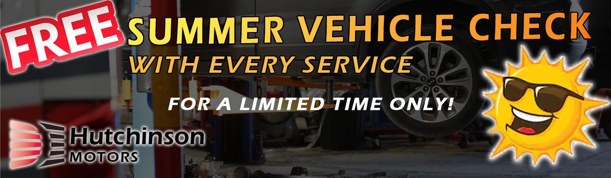 Hutchinson Motors Summer Service Offer Large Image