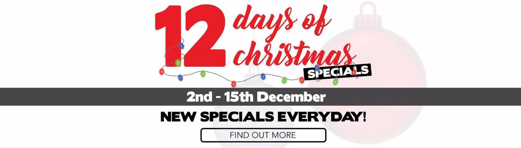 Llewellyn 12 Days of Christmas Specials