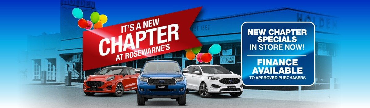 Rosewarne's Ford | It's A New Chapter At Rosewarne's Large Image