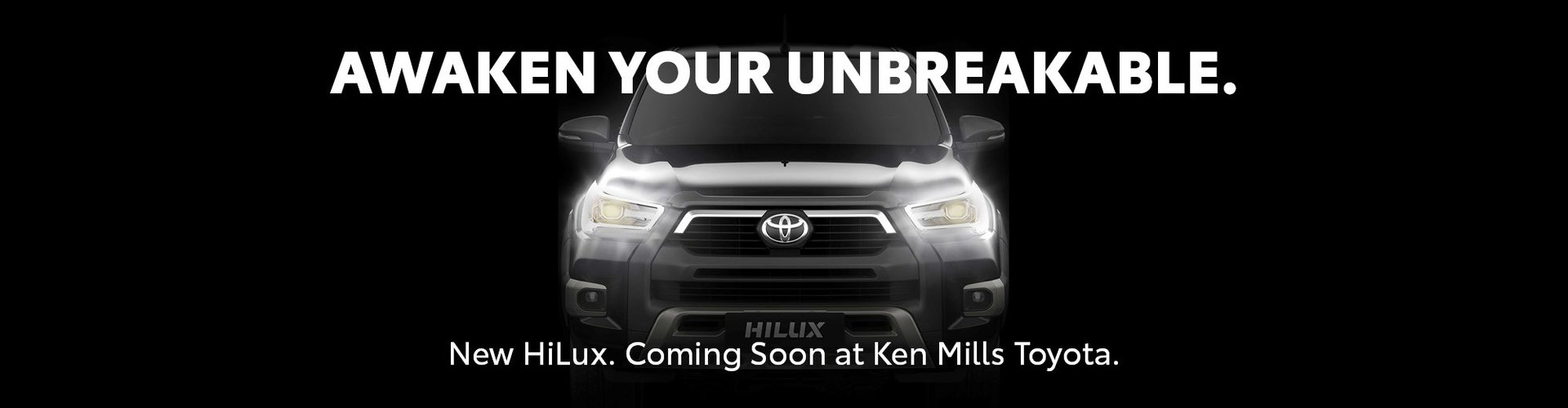 New HiLux at Ken Mills Toyota on the Sunshine Coast