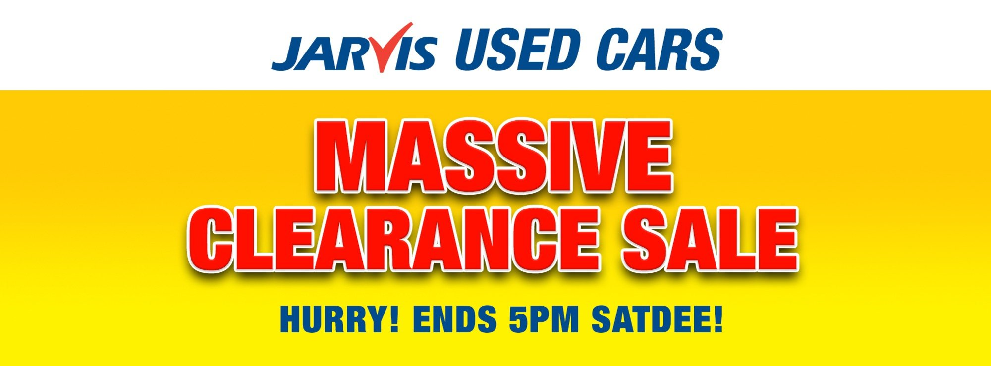 Jarvis Massive Clearance Sale