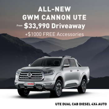 GWM UTE CANNON FROM $33,990 Small Image