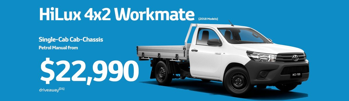 HiLux, Australia's #1 Selling Vehicle in 2018  Large Image