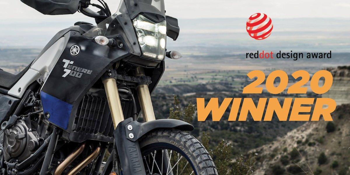 blog large image - Yamaha's 2020 Ténéré 700 Wins Prestigious Red Dot Award