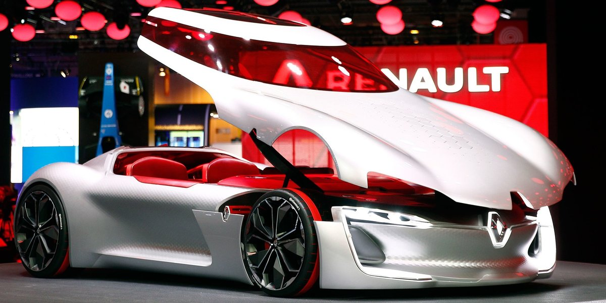 blog large image - Renault Trezor.  The Most Beautiful Concept Car