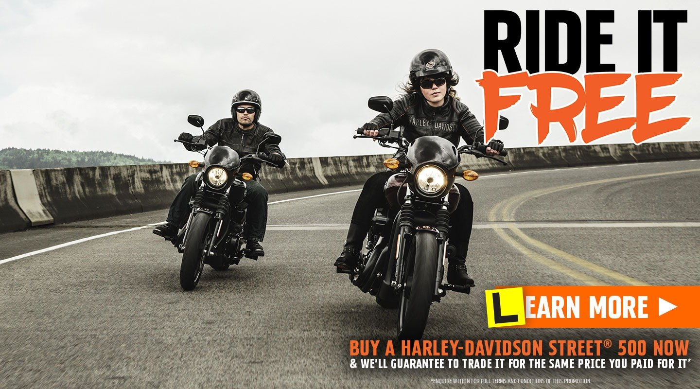 Ride Free at Gold Coast Harley®