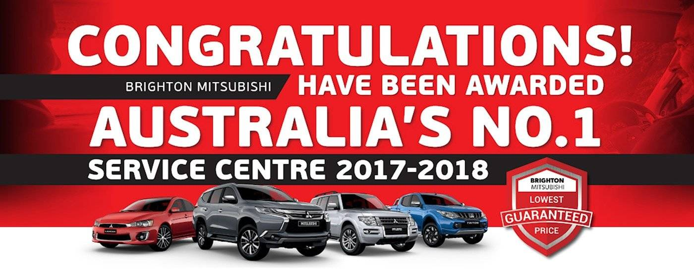 Australia's No.1 Service Centre | Brighton Mitsubishi