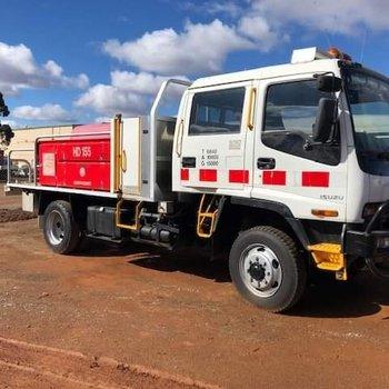 Isuzu Crew Cab Fire Truck  Small Image