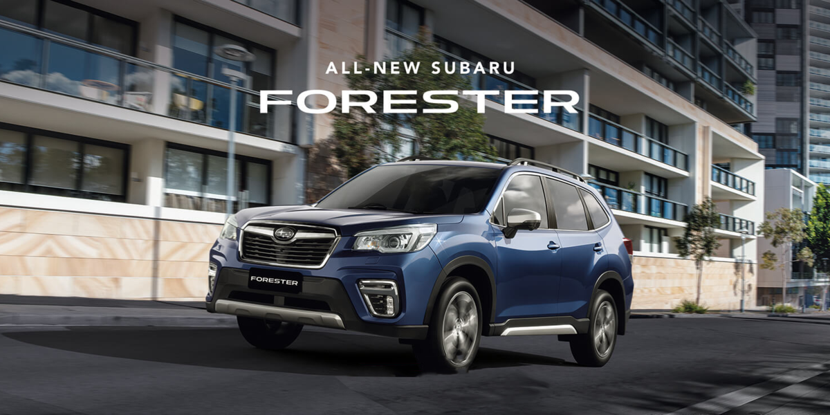 blog large image - Subaru Forester named best Small SUV of 2018