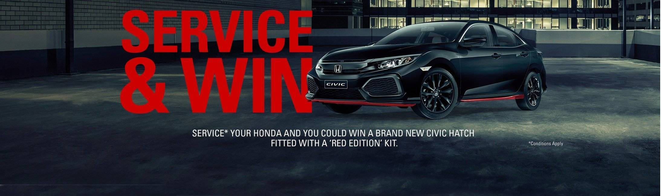 Service your Honda and Win!