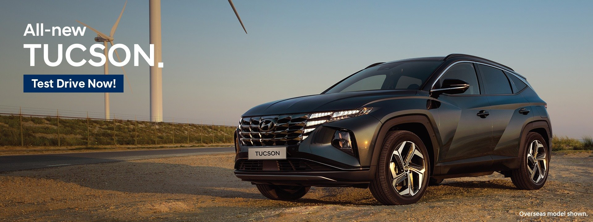 All New Tucson - Here Now