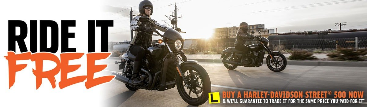 Ride It Free At Morgan & Wacker Harley-Davidson® Large Image