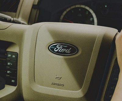 Interior of a ford car image