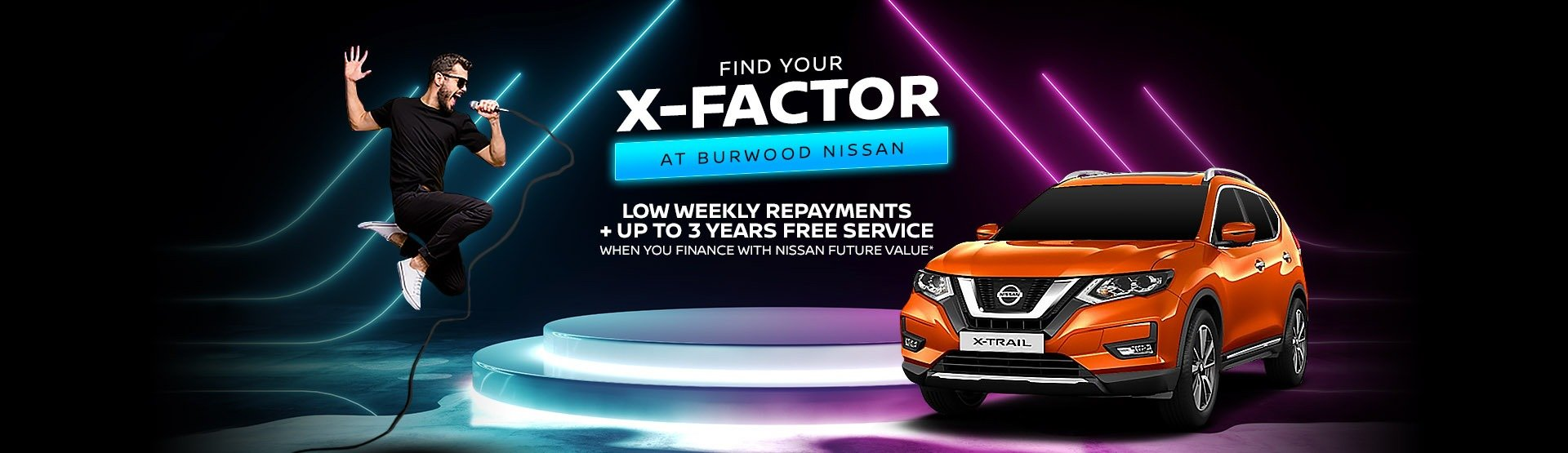 Burwood Nissan   X-Trail