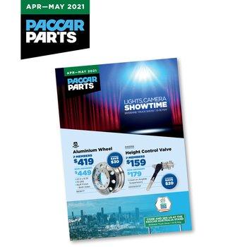 PACCAR Parts   April - May 2021 Catalogue Small Image