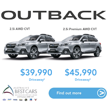 2018 Outback Runout Small Image