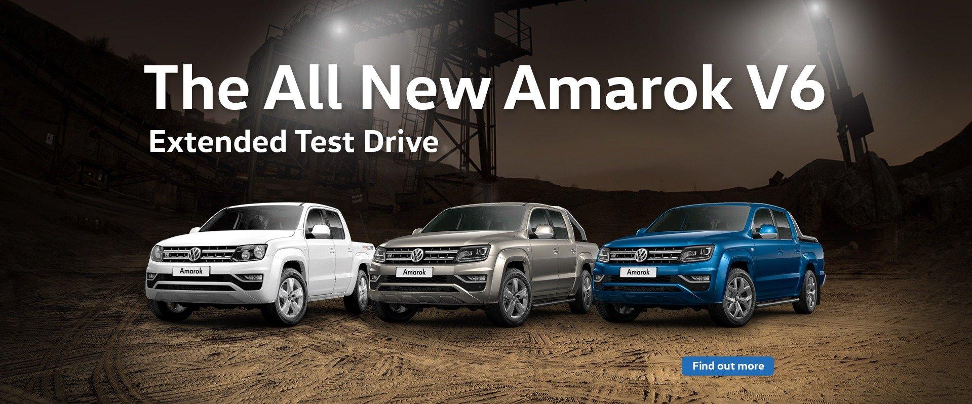 Amarok Test Drive