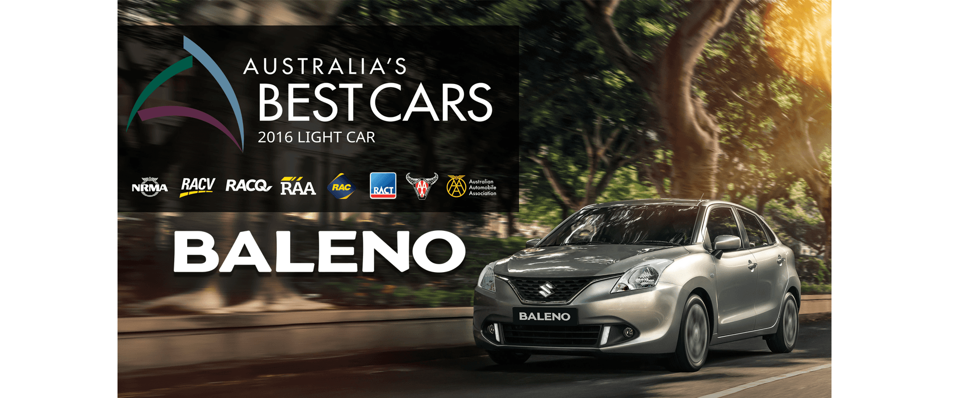 2016 Australia's Best Light Cars Award Baleno