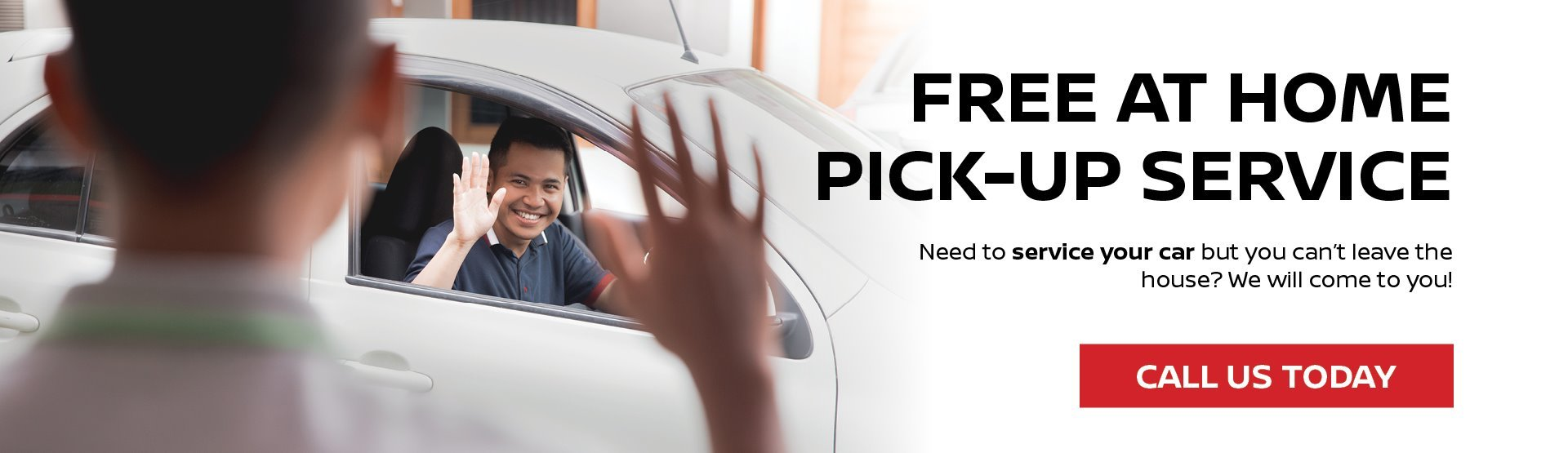 Home Service Pick up sERVICE nISSAN