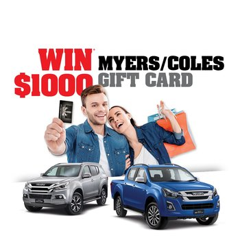 WIN $1000 Coles/Myer Gift Card! * Small Image