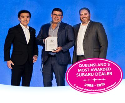 QLD Subaru Award image