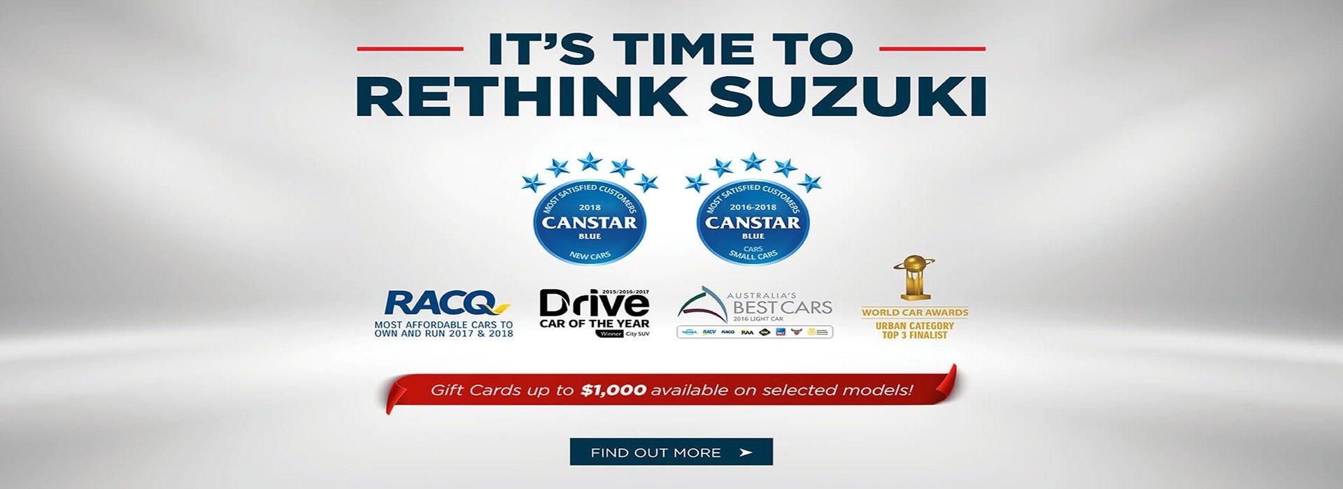 Rethink Suzuki