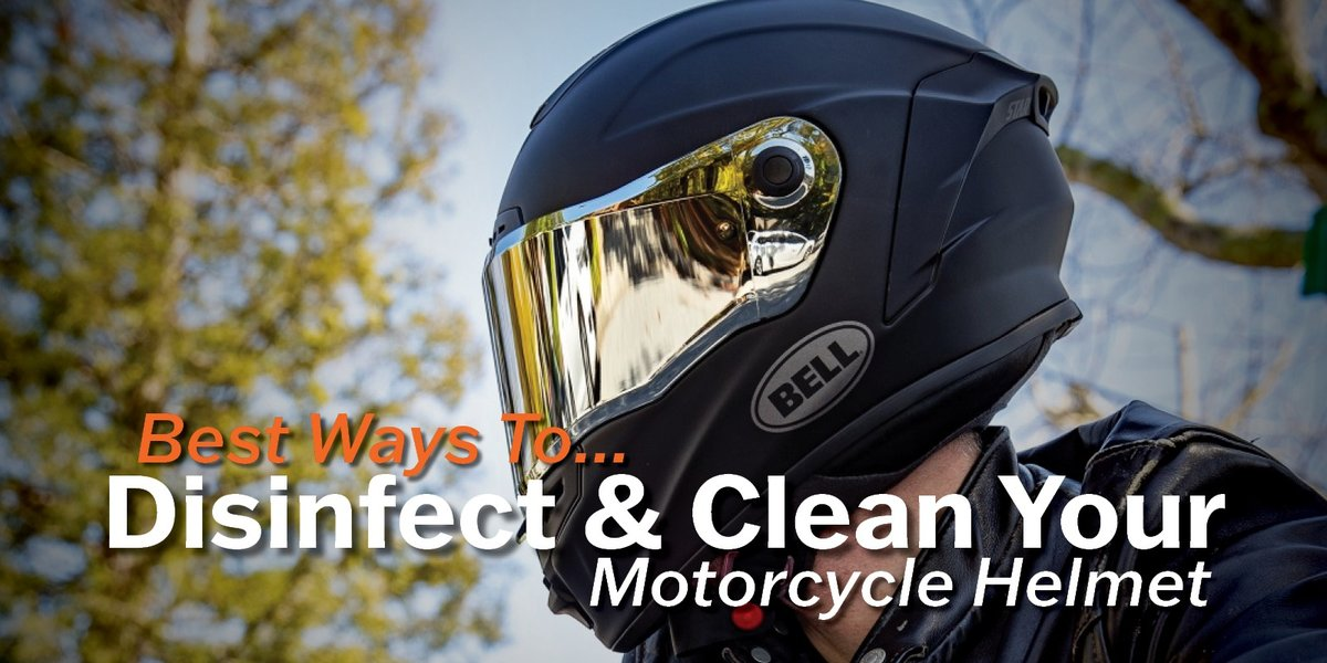 blog large image - Best Ways To Disinfect & Clean Your Motorcycle Helmet