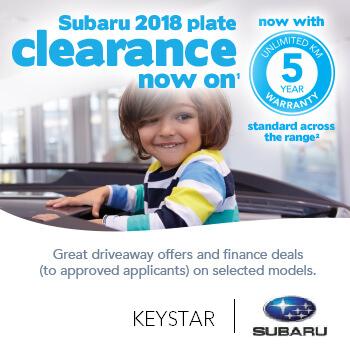 Subaru 2018 Plate Clearance  Small Image