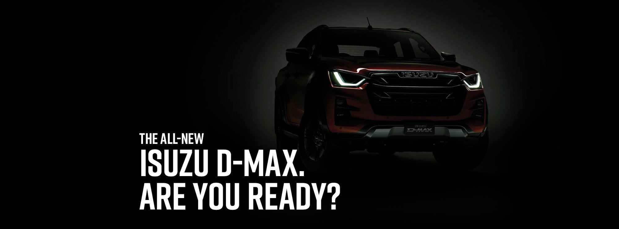 Isuzu D-Max is Coming