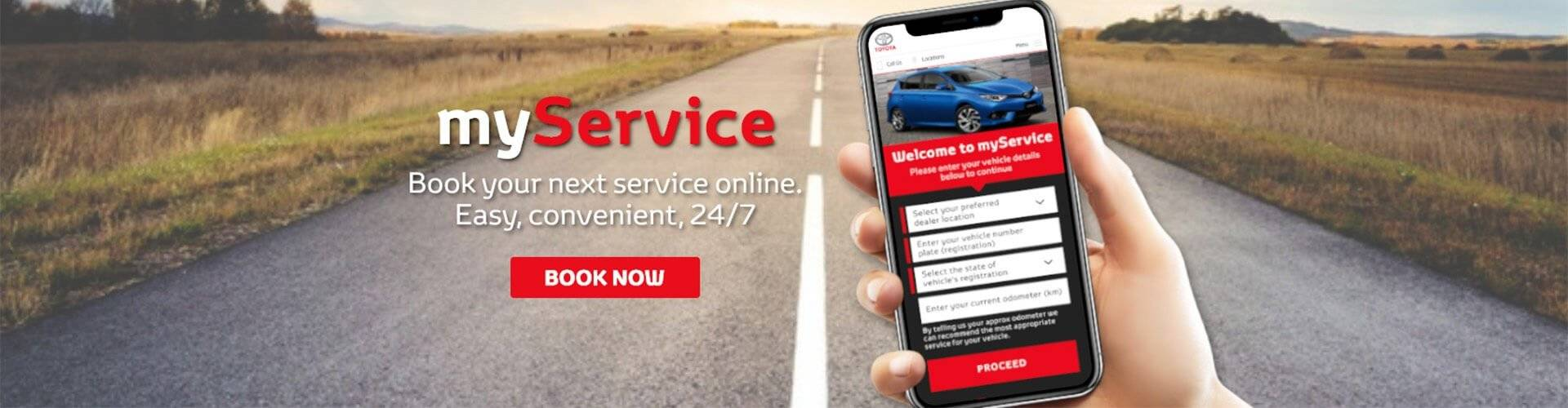 Cranbourne Toyota Book a Service Online