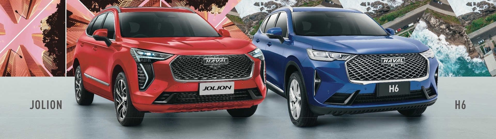 New Haval Jolion and Haval H6 SUV for sale in Perth