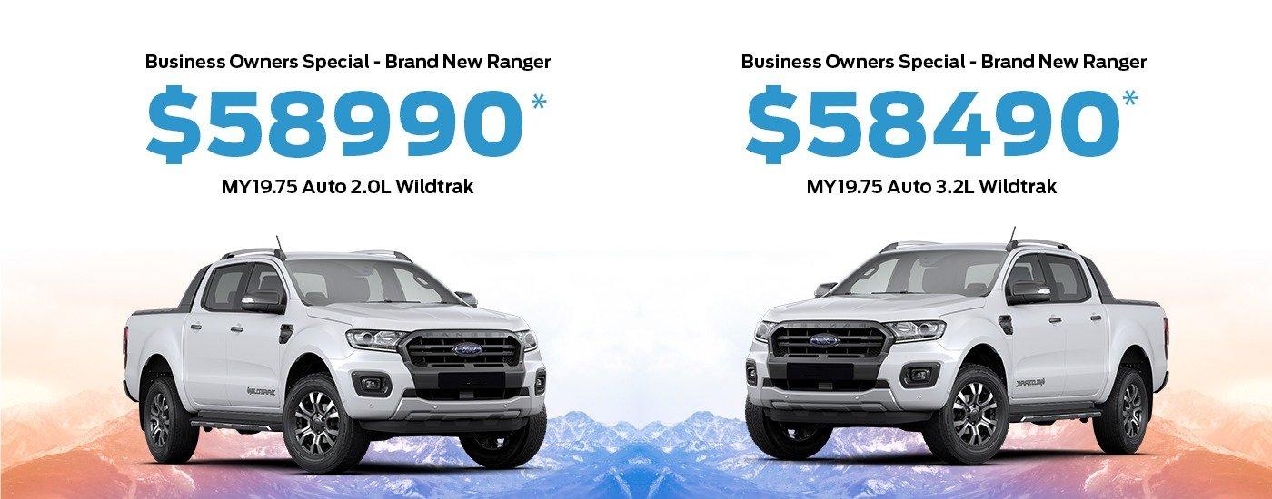 Ranger Wildtrak Offer ABN