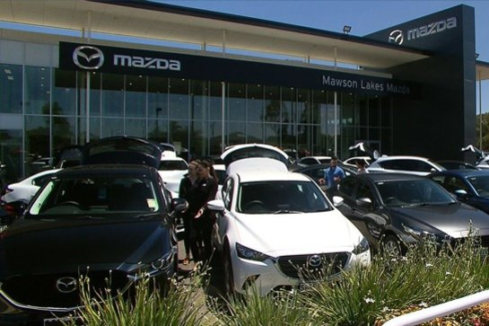Mawson Lakes Mazda Dealership, Greenfields