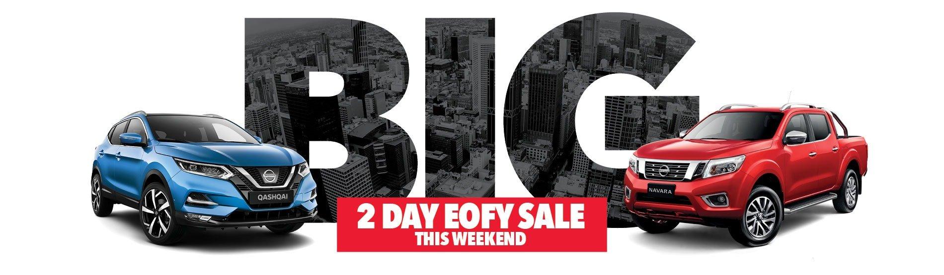 City Nissan BIG 2 Day EOFY Sale