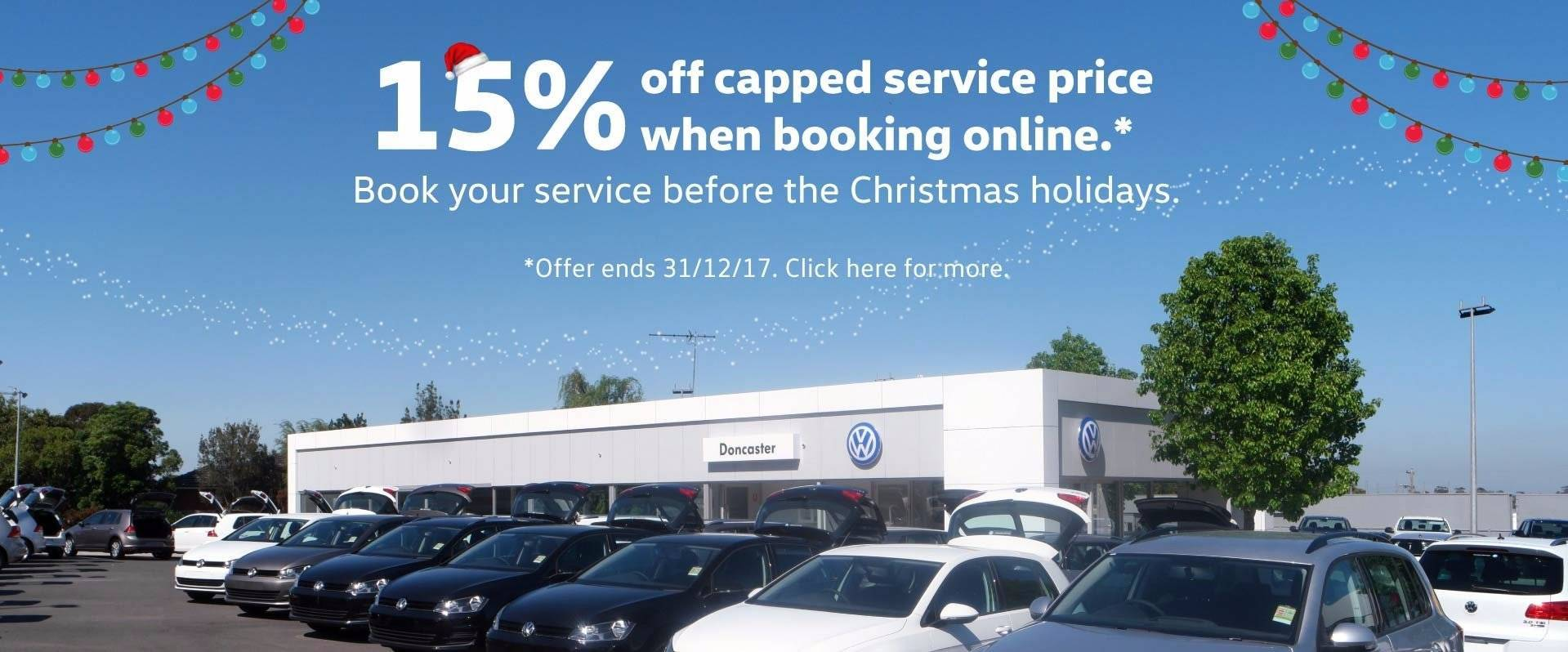 Doncaster Capped Price Service Discount