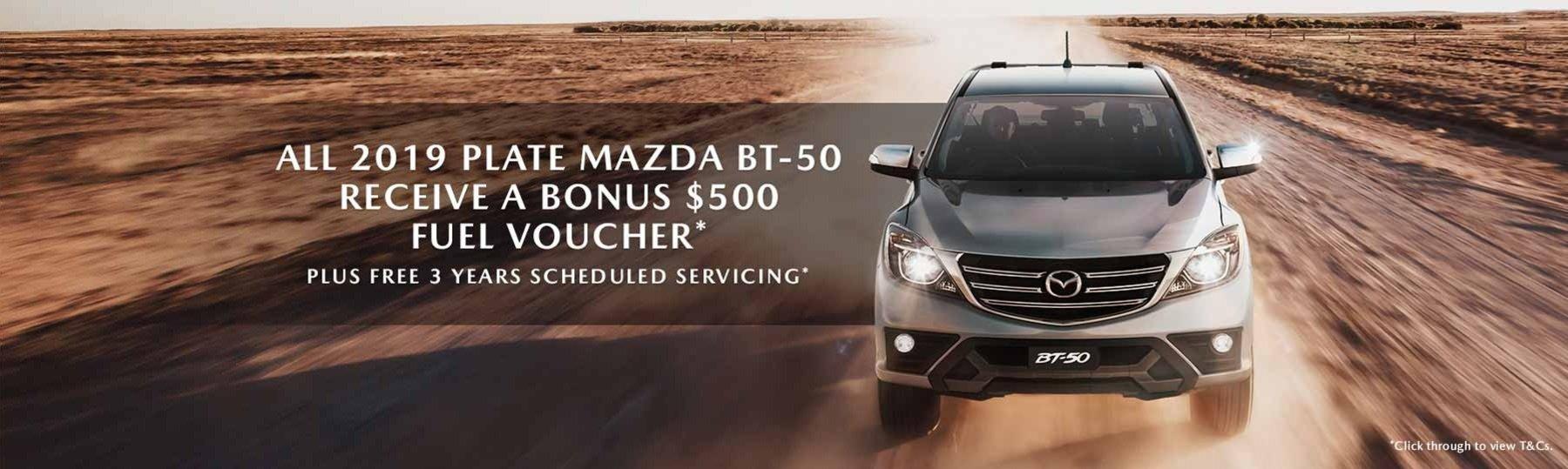 Mazda BT-50 Offer