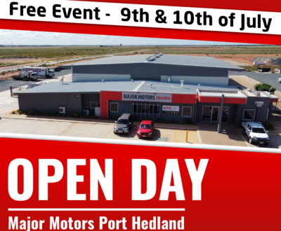 Port Hedland Open Day image