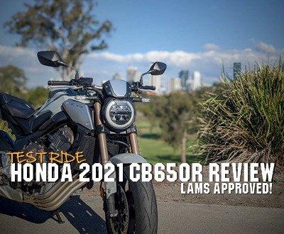 Honda 2021 CB650R Review | Test Ride image