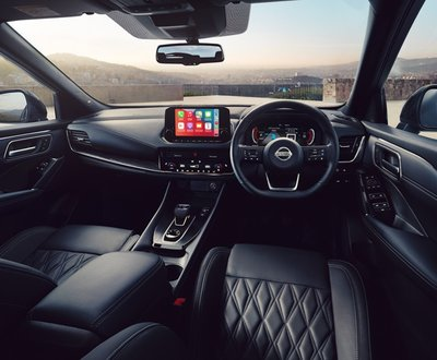 Nissan Qashqui interior image