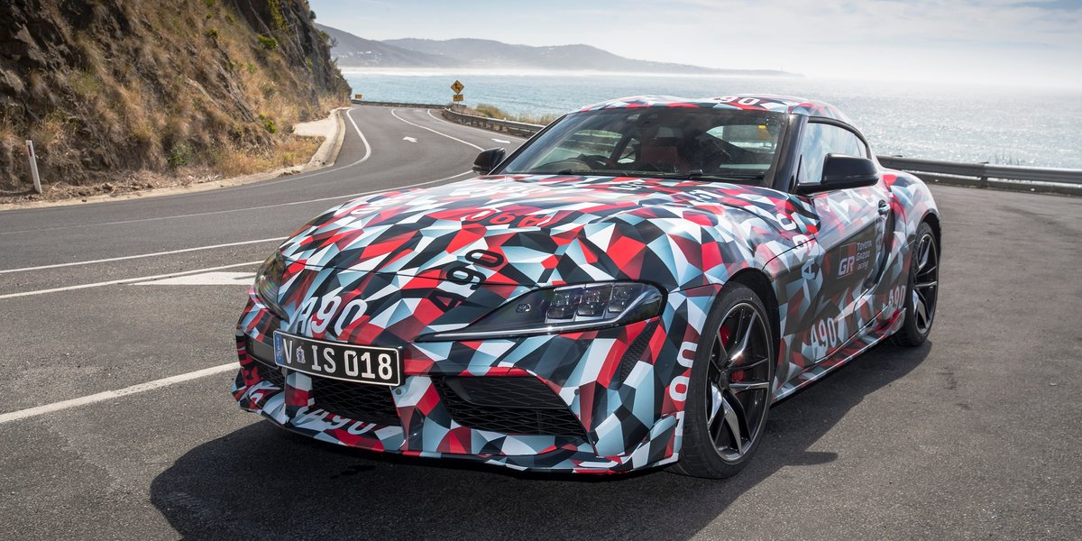 blog large image - Next generation Supra takes on the Great Ocean Road