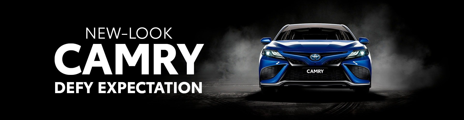 Toyota New-Look Camry - Defy Expectation