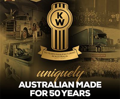Kenworth 50 Years of Manufacturing in Australia image