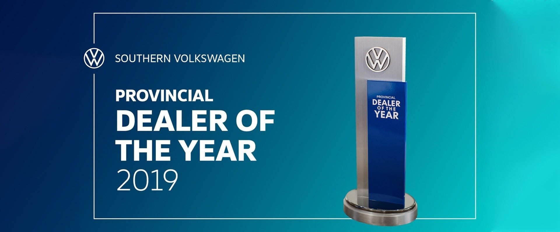 Southern VW - Dealer of the Year 2019