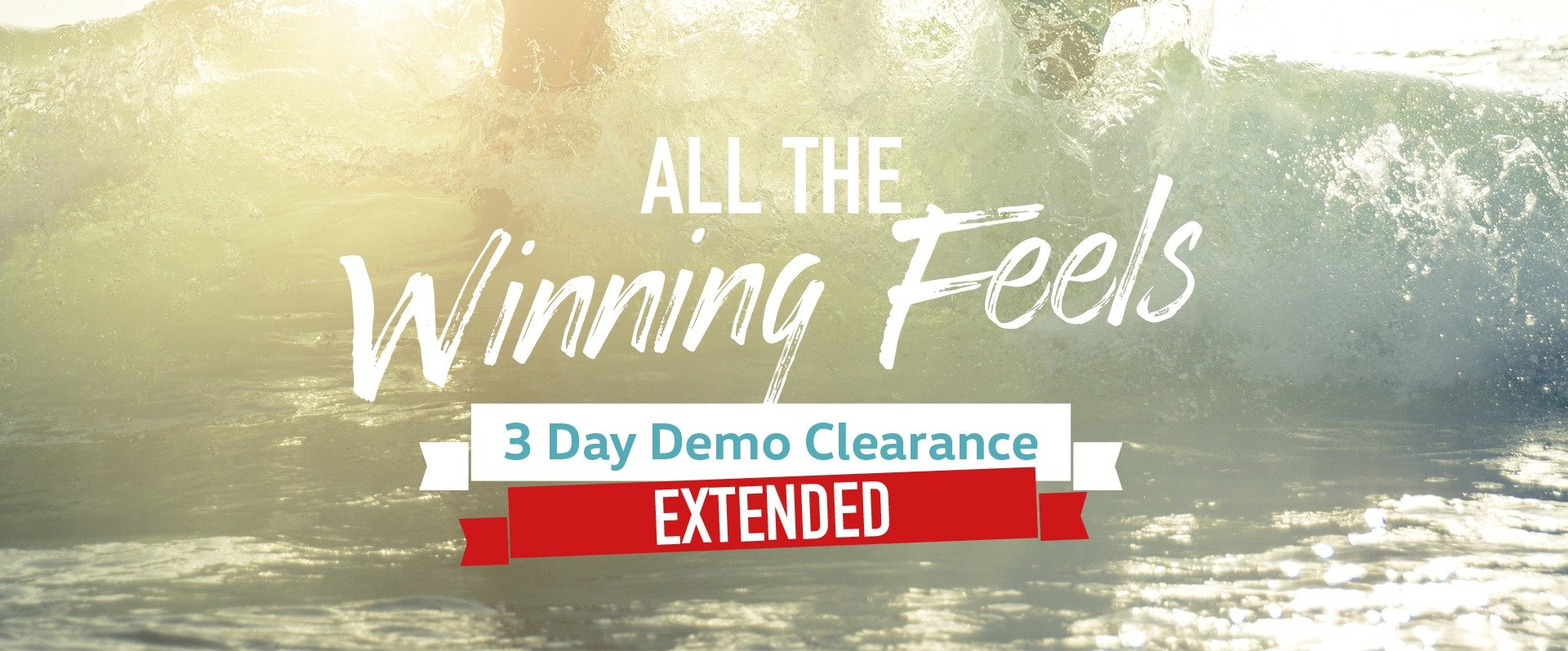 Receive an exclusive deal at Denlo Volkswagen. 3 Days Only