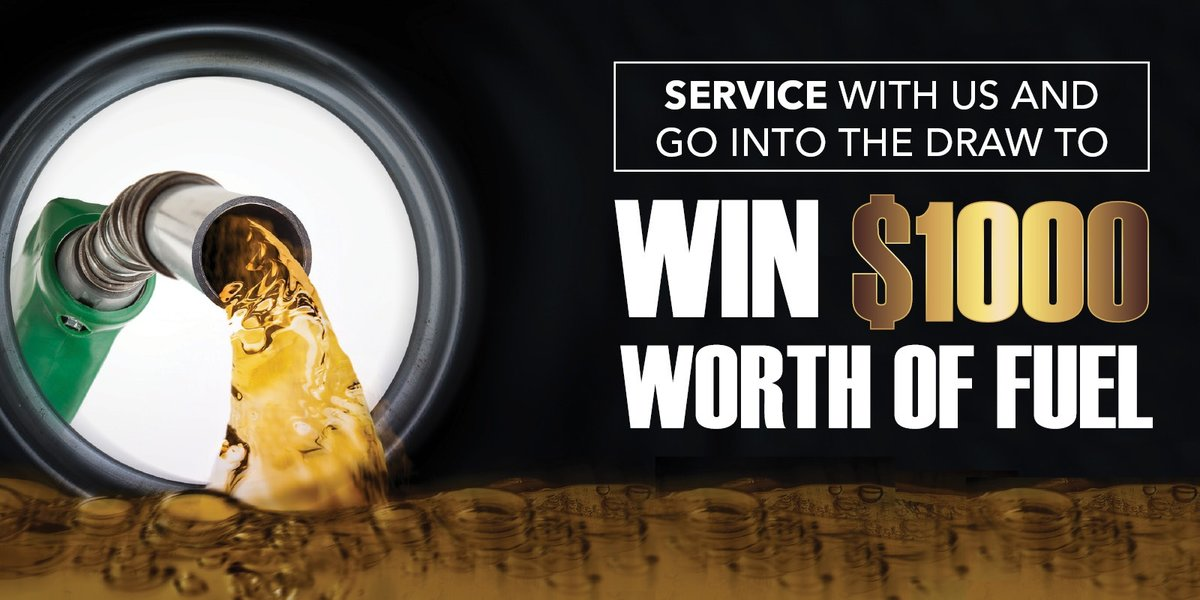 blog large image - Service with us to win $1,000 worth of fuel