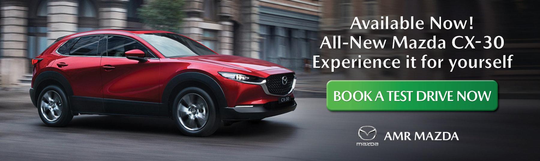 All-New Mazda CX-30 Test Drive
