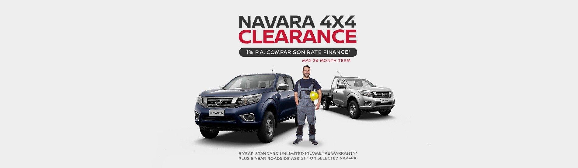 Burwood Nissan - 4x4 Navara