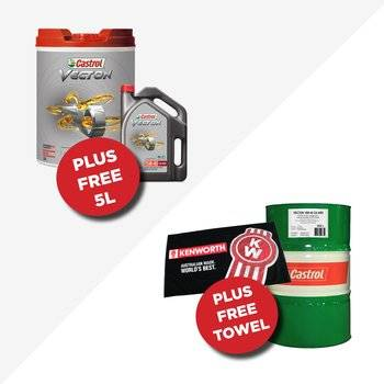 Castrol offers at Hallam & Bayswater Truck Centres.  Small Image
