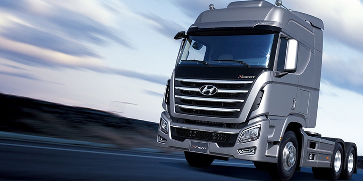 blog large image - The Right Truck For The Job - Hyundai Xcient