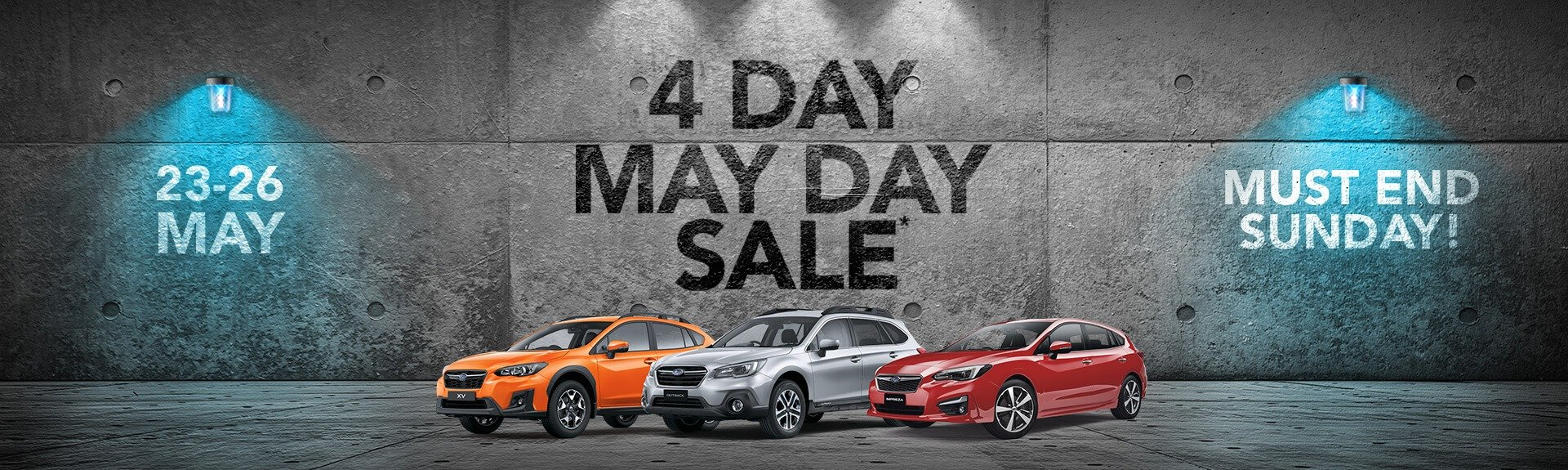 4 Day May Day Sale